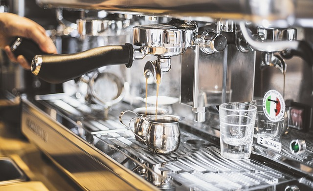Kaffe på kafe