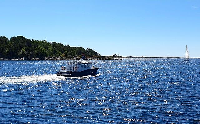 Båt sandøya
