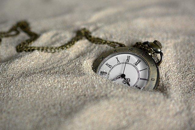 ferie klokke