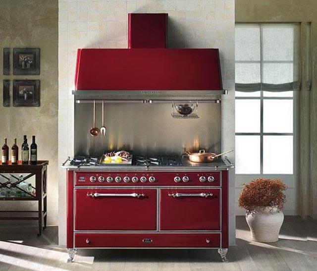 Kitchenline rød komfyr