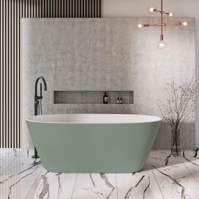 Sanipro badekar GRØNN hovedbilde