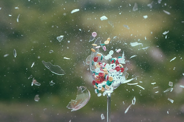 glass skår