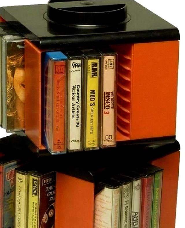 kassettholder 80s