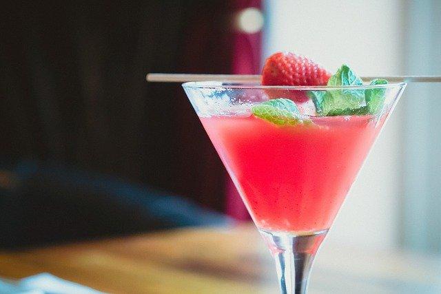 jordbær champagne