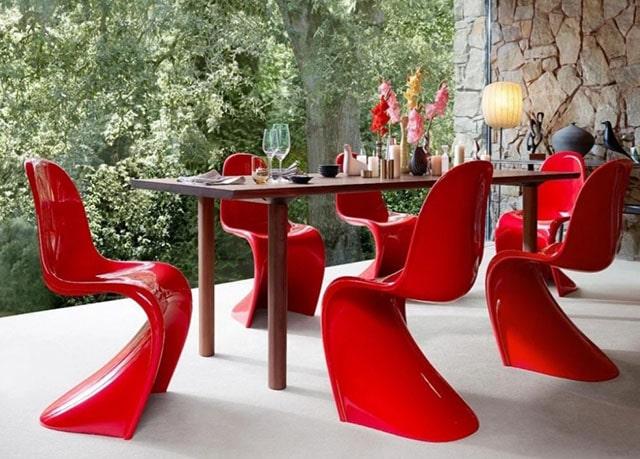 røde stoler vintage 640