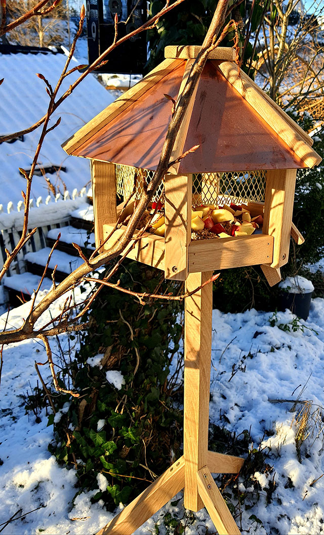 fuglemater med tak, kvist 640