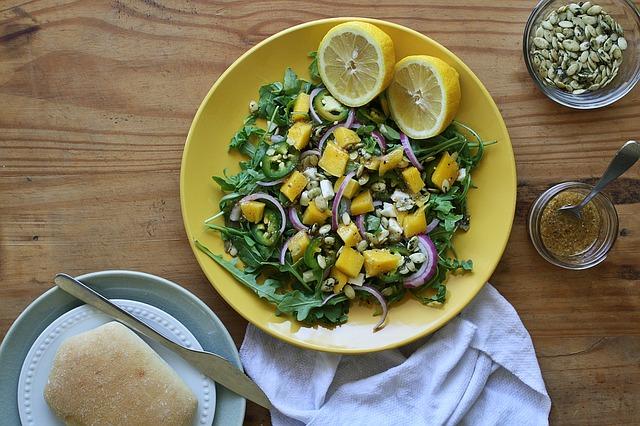 salat mango